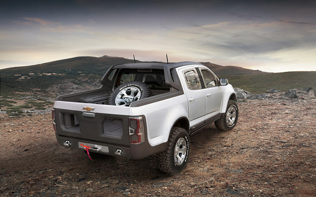2018 Chevrolet Colorado Rally Concept photo - 3