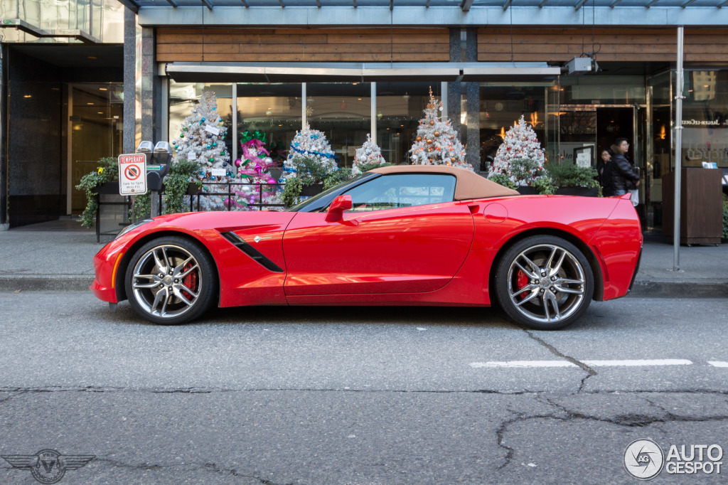 2018 Chevrolet Corvette C7 Stingray Convertible photo - 2