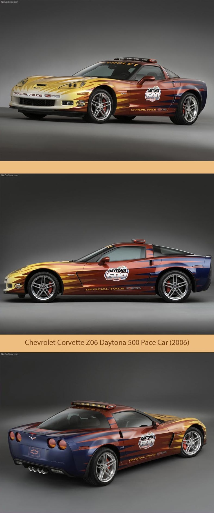 2018 Chevrolet Corvette Z06 Daytona 500 Pace Car photo - 3