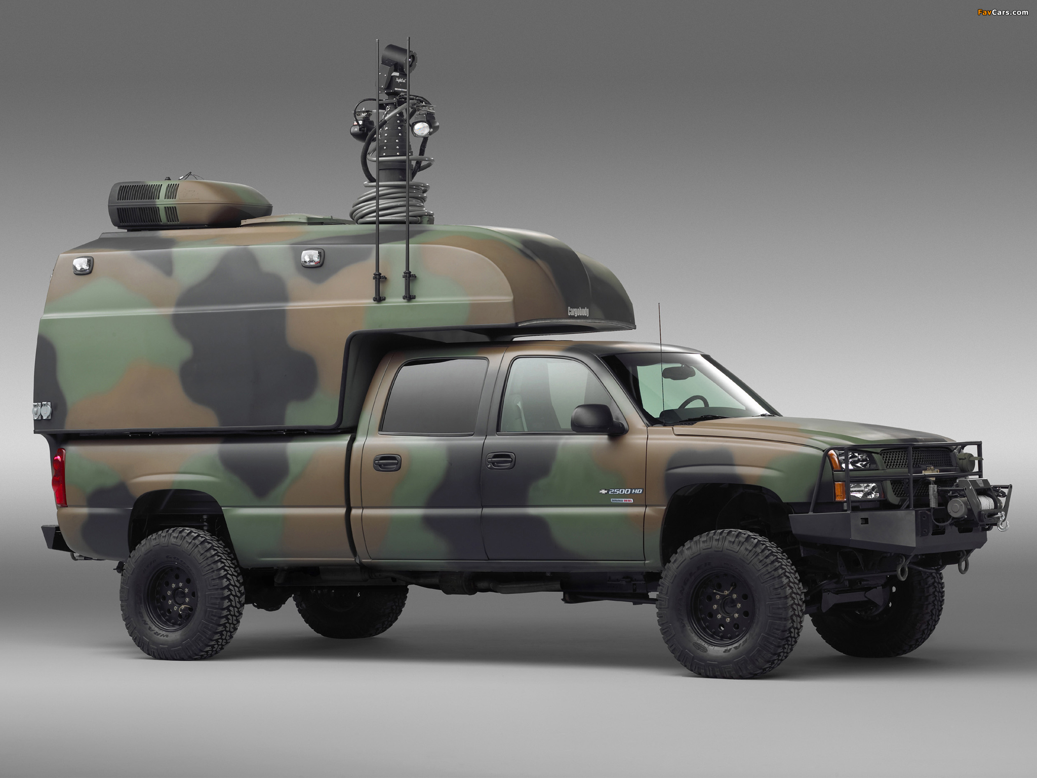 2018 Chevrolet Silverado Hydrogen Military Vehicle photo - 4