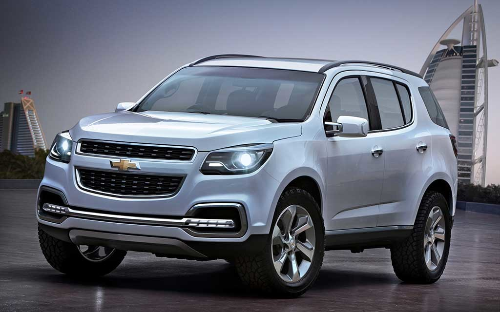 2018 Chevrolet TrailBlazer SS | Car Photos Catalog 2019