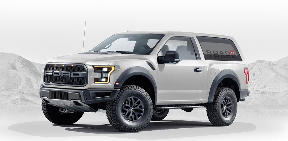 2018 Ford Bronco Concept photo - 3