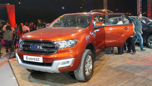 2018 Ford Everest photo - 4