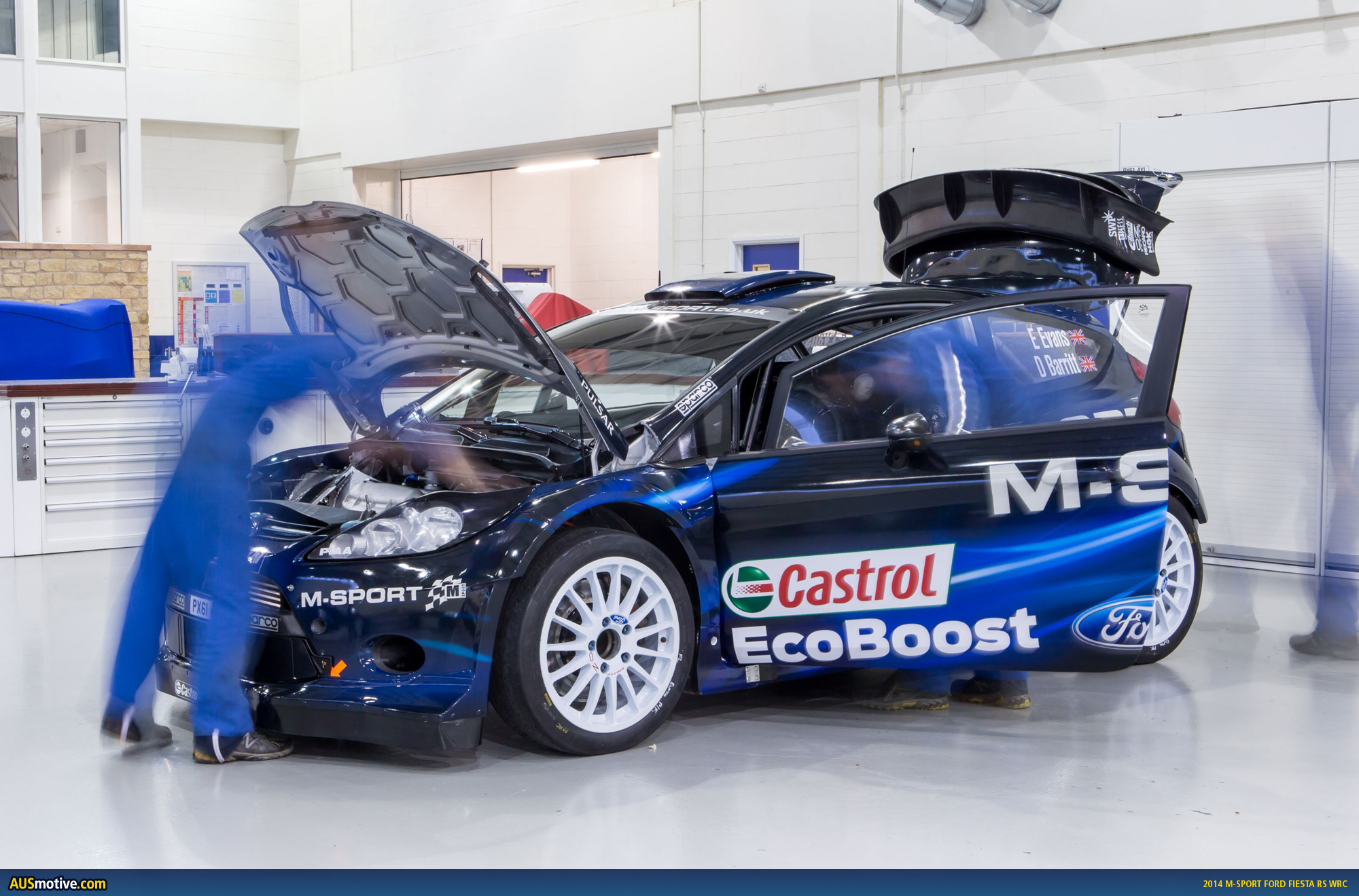 2018 Ford Fiesta RS WRC photo - 3
