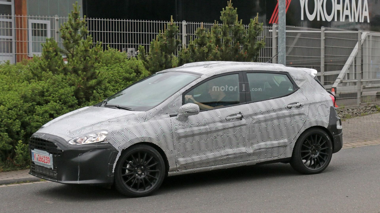 2018 Ford Fiesta ST Concept photo - 2