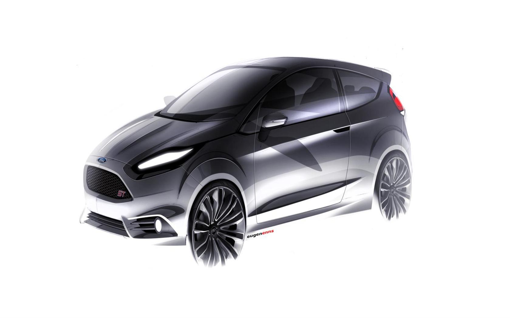 2018 Ford Fiesta ST Concept photo - 3