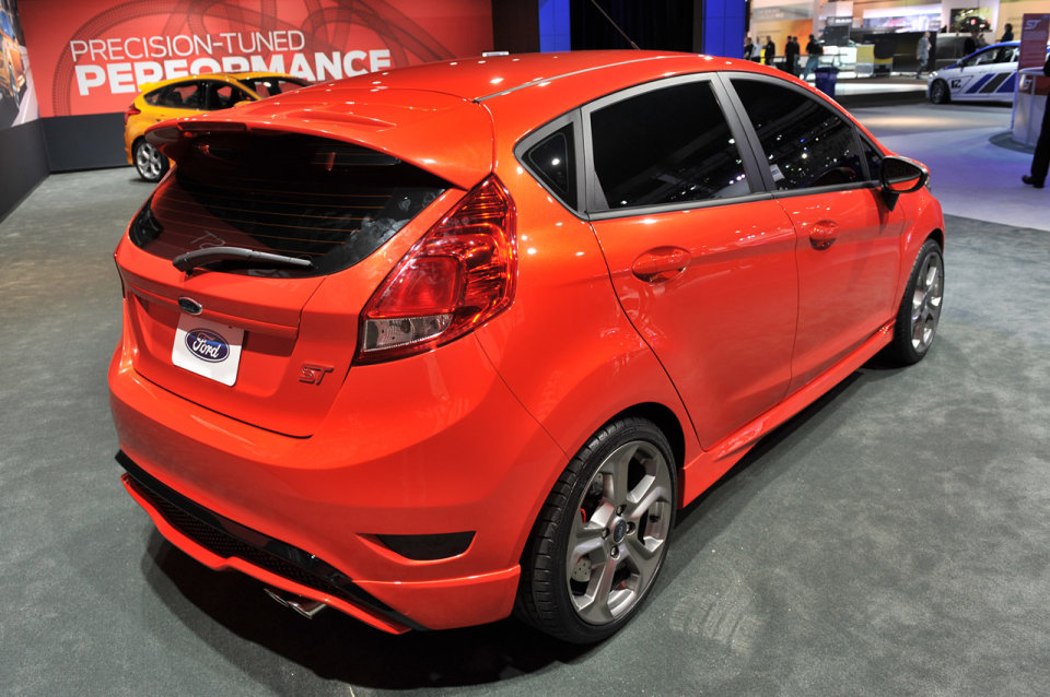 2018 Ford Fiesta ST Concept photo - 5