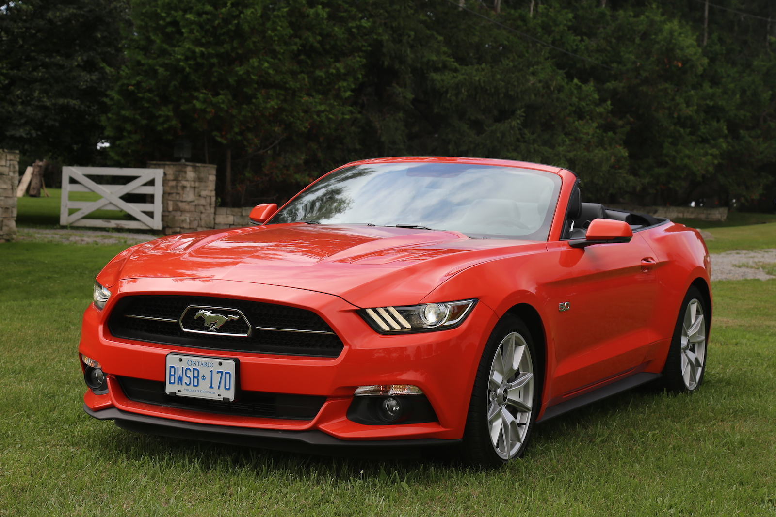 2018 Ford Mustang GT Convertible photo - 1