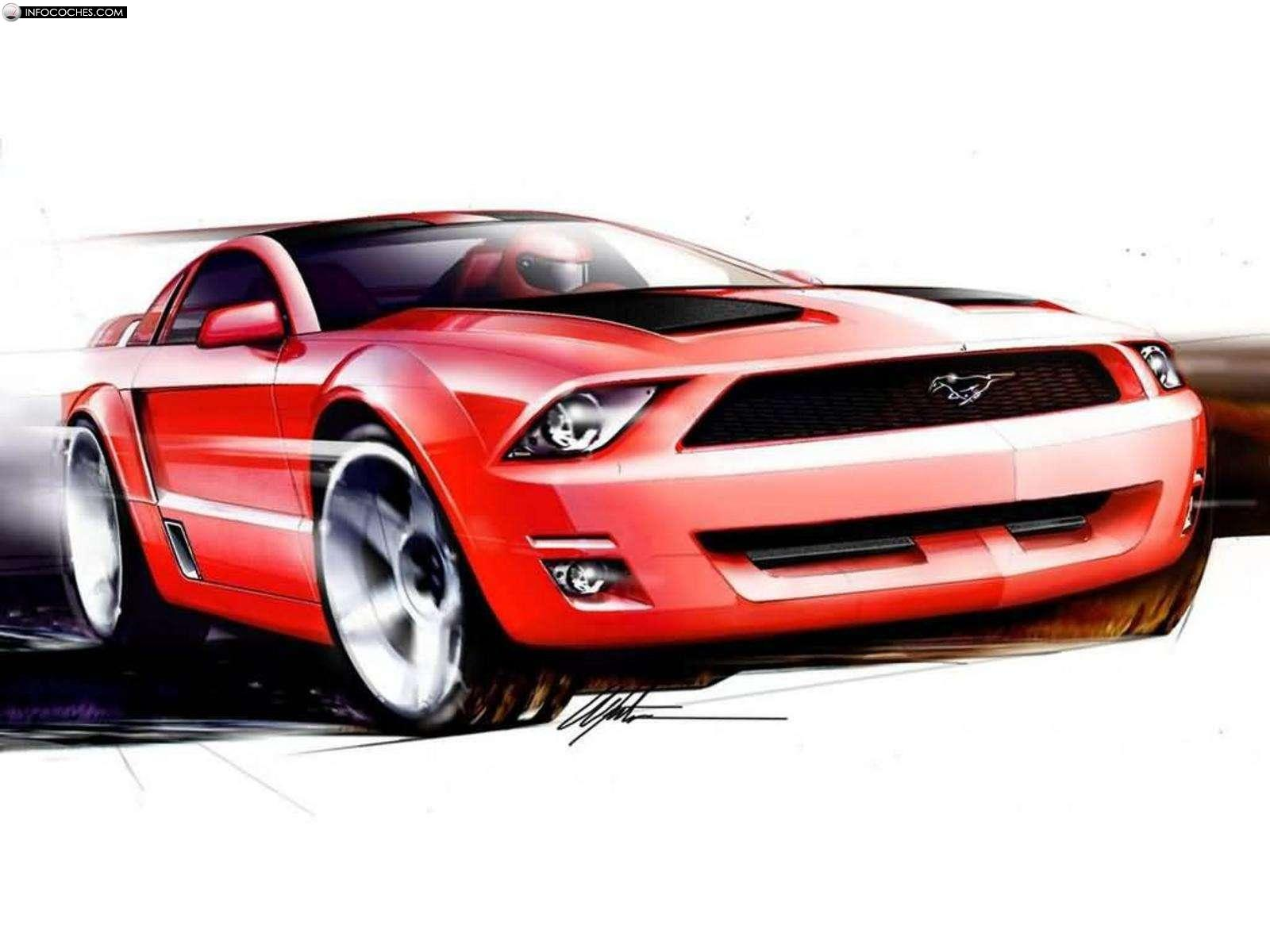 2018 Ford Mustang GT Coupe Concept photo - 4