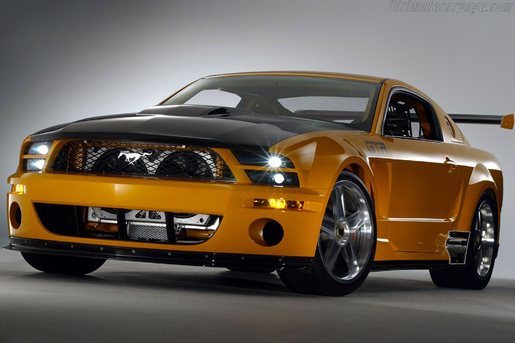 2018 Ford Mustang Mach 1 Concept photo - 3