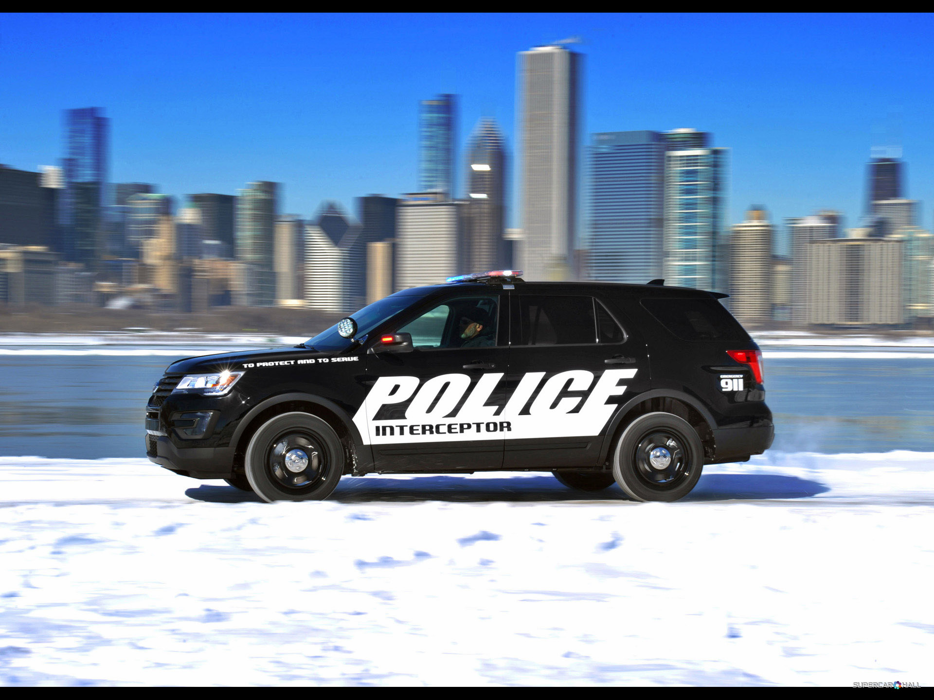 2018 Ford Police Interceptor Concept photo - 2