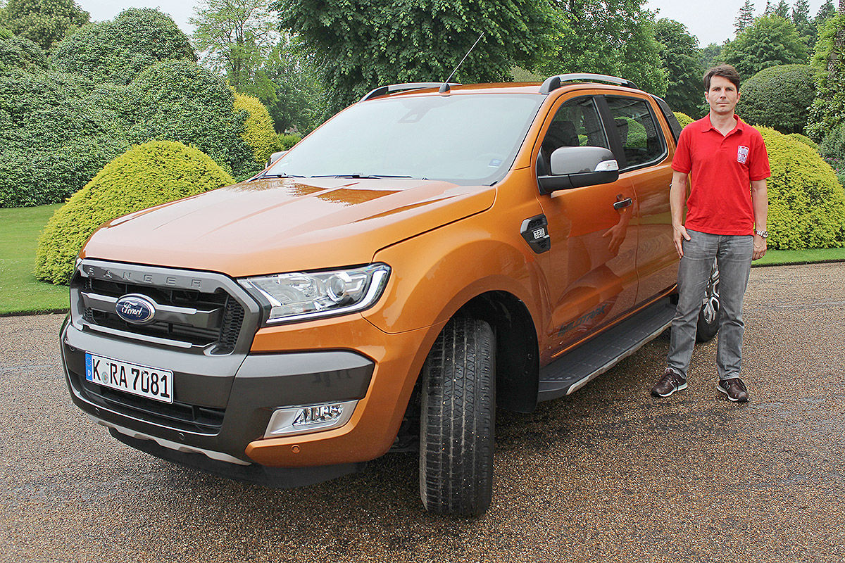 The updated 2018 Ford Ranger Wildtrak has now surfaced in photos and ...