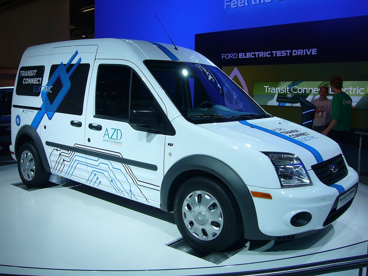 2018 Ford Transit Connect Electric photo - 4