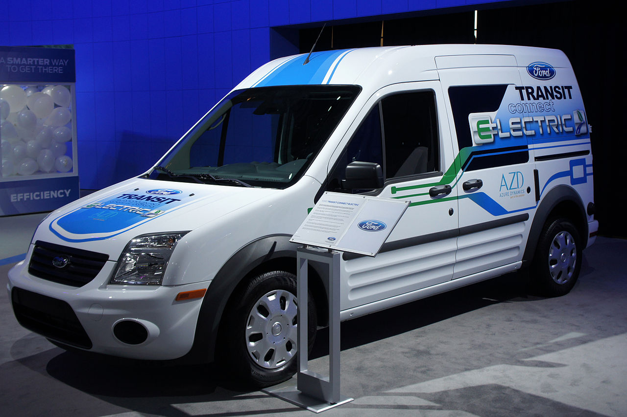 2018 Ford Transit Connect Electric photo - 5