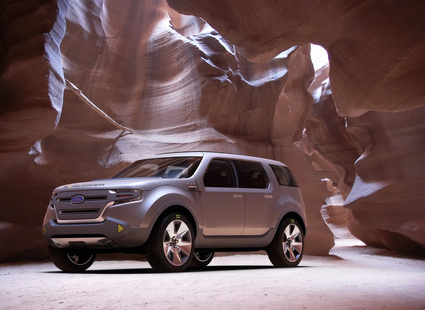 2018 Ford Verve 5 door Concept photo - 2