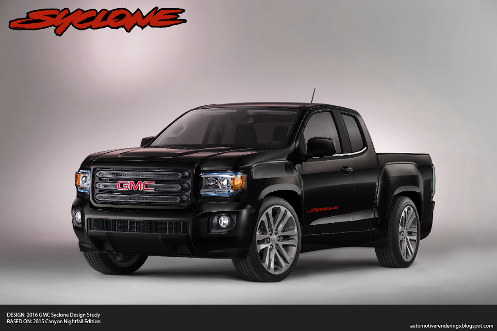 2018 GMC Canyon Nightfall Edition | Car Photos Catalog 2018