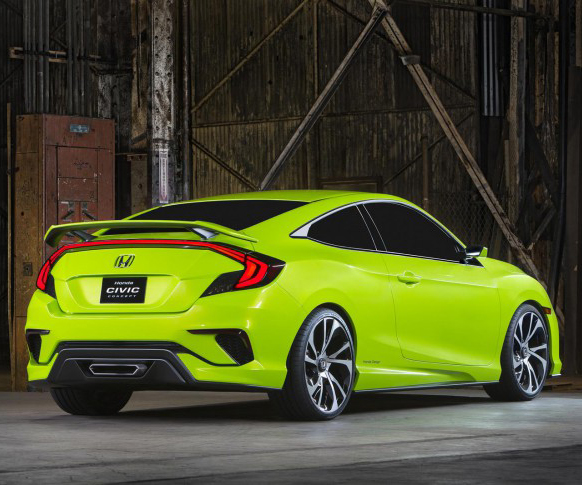 2018 Honda Civic Concept photo - 4
