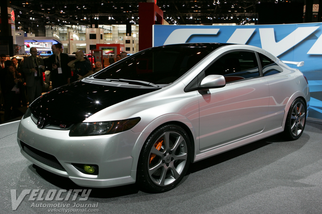 2018 Honda Civic Si Concept photo - 1