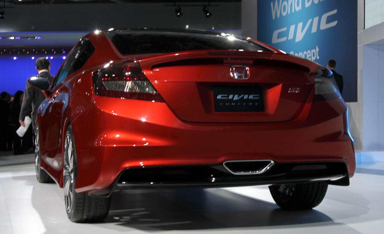 2018 Honda Civic Si Concept photo - 4