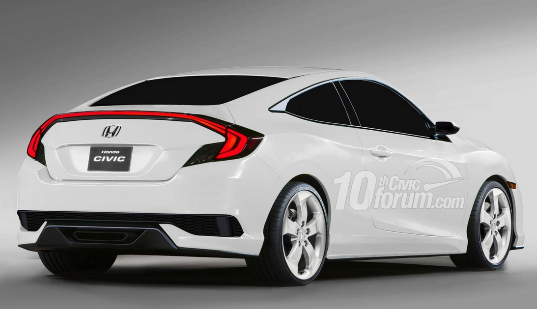 2018 Honda Civic Si Sport Concept photo - 1