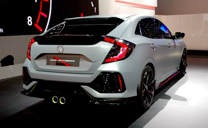 2018 Honda Civic Si Sport Concept photo - 2