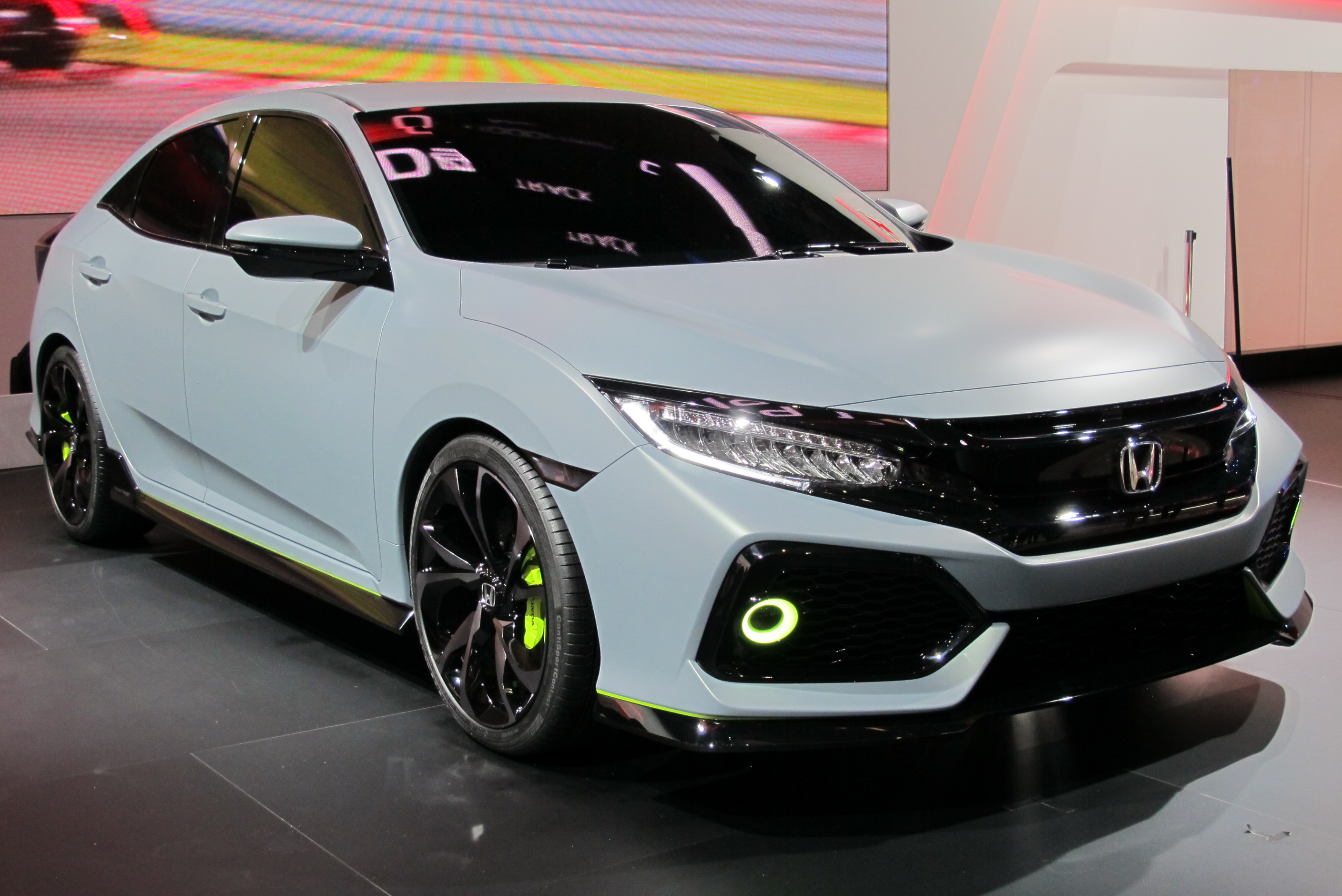 2018 Honda Civic Si Sport Concept photo - 3