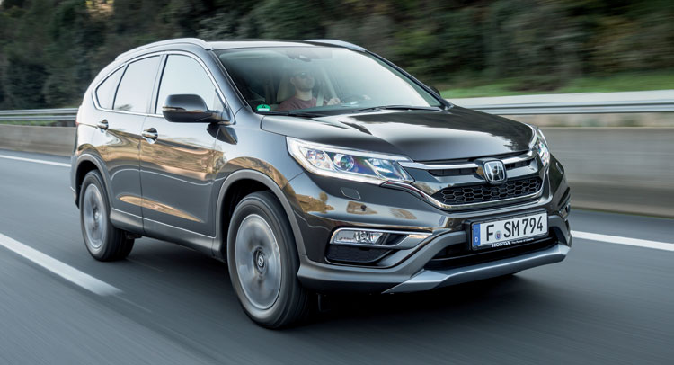 2018 Honda CR V Euro Specs photo - 2