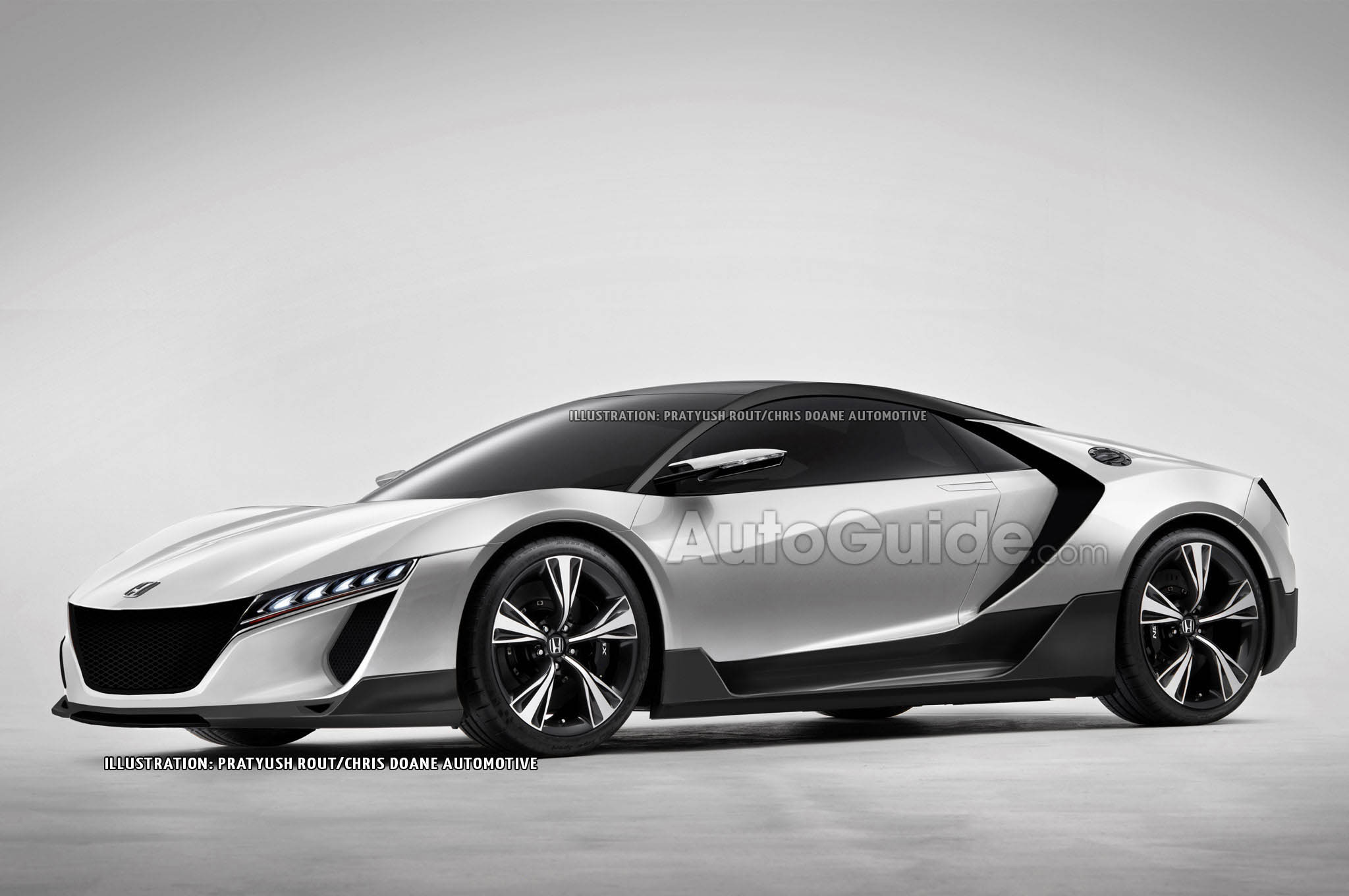 2018 Honda NSX Concept photo - 3