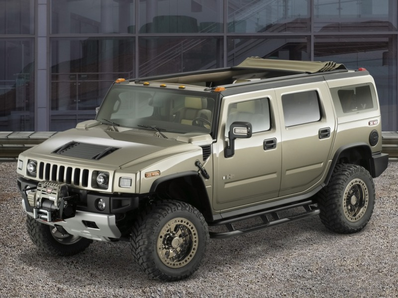 2018 Hummer H3R Off Road Concept photo - 2