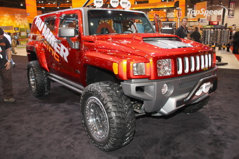 2018 Hummer H3R Off Road Concept photo - 3