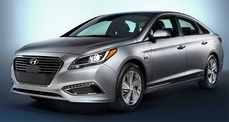 2018 Hyundai Sonata Plug in Hybrid photo - 4