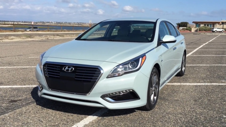 2018 Hyundai Sonata Plug in Hybrid photo - 5