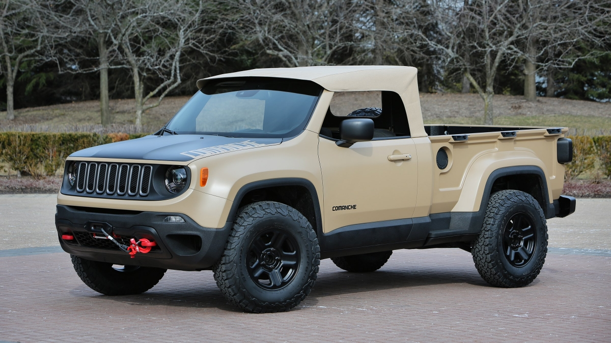 2018 Jeep Wrangler Dragon Concept Photo 2