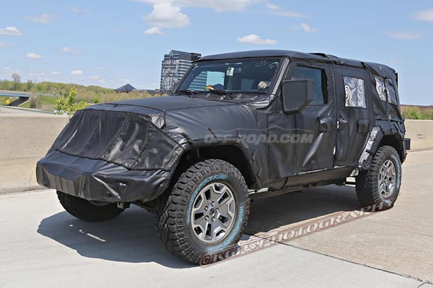 2018 Jeep Wrangler Unlimited UK Version photo - 1