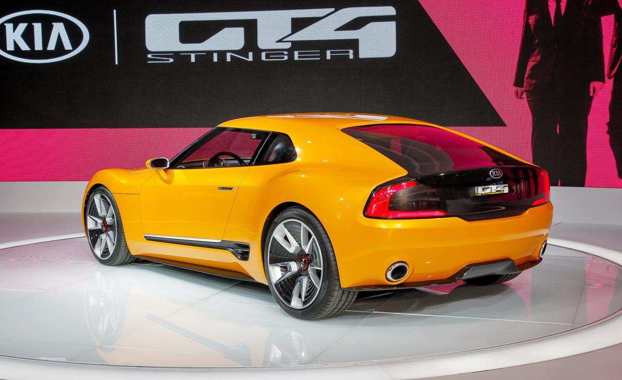 2018 Kia GT4 Stinger Concept photo - 5