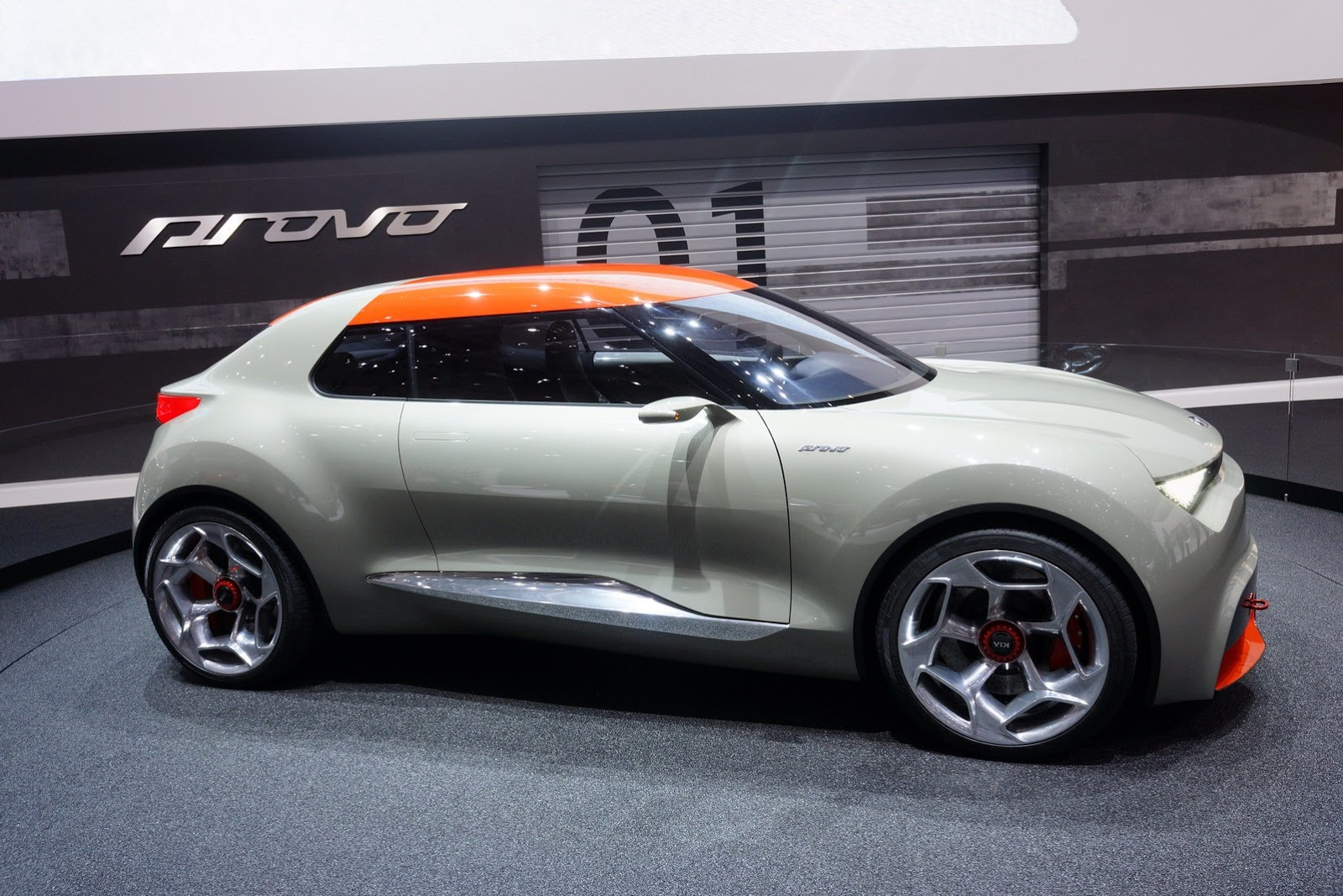 2018 Kia KCD1 Slice Concept photo - 3