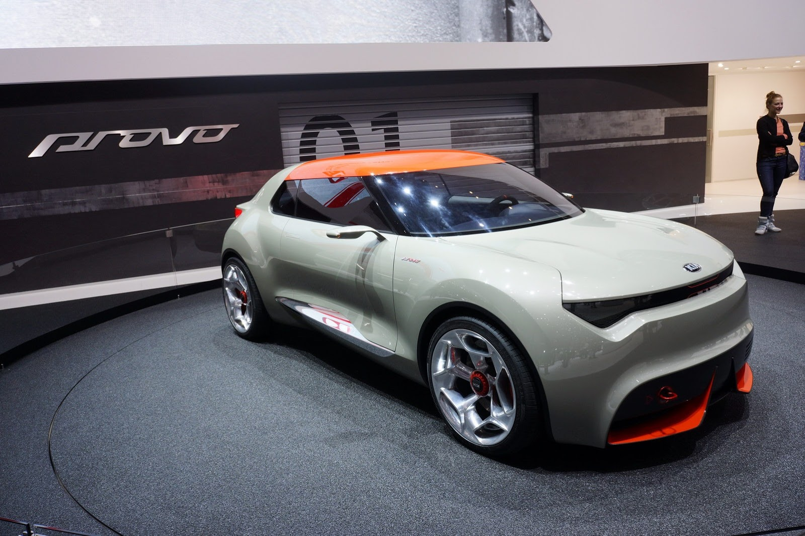 2018 Kia KCD1 Slice Concept photo - 4