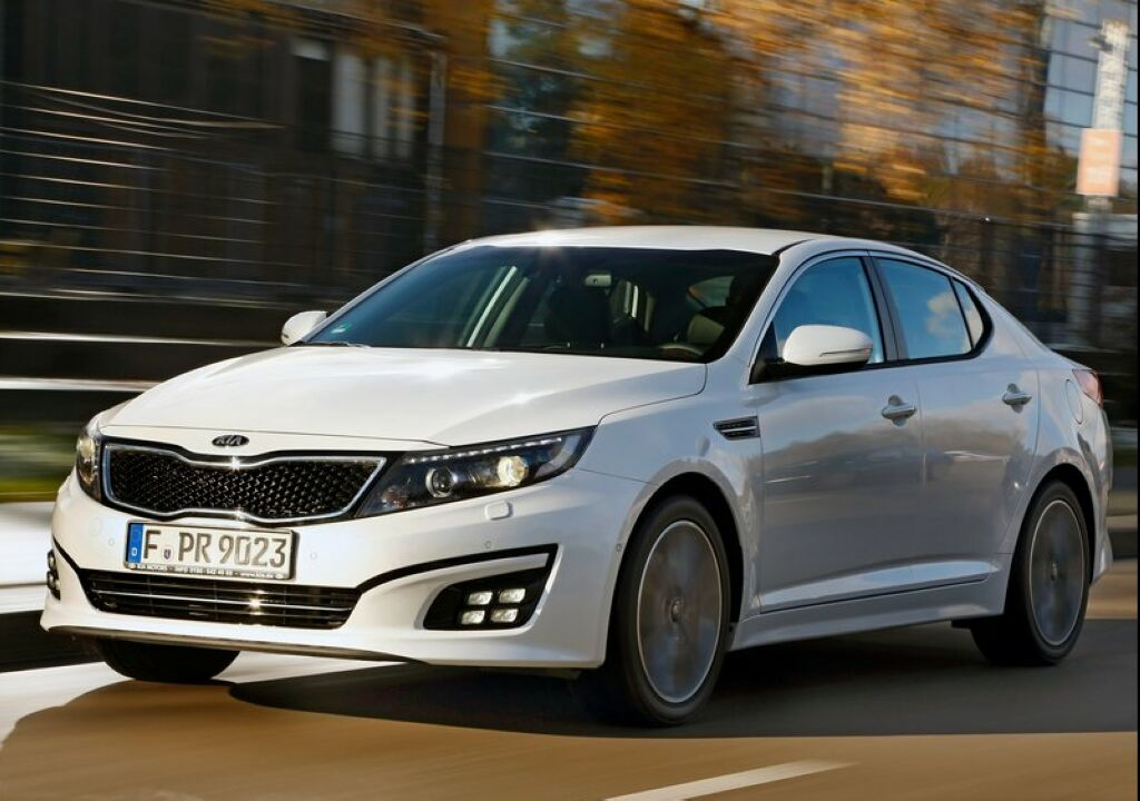 2018 Kia Optima EU Version photo - 4