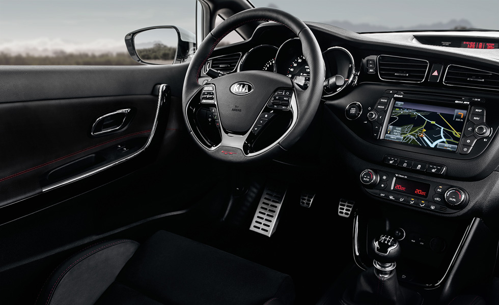 The updated 2018 Kia Pro Ceed GT has now surfaced in photos and ...