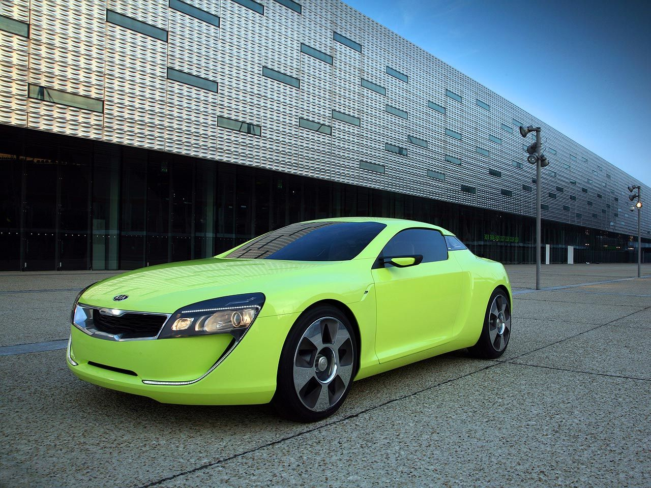 2018 Kia Sports Coupe Concept photo - 2