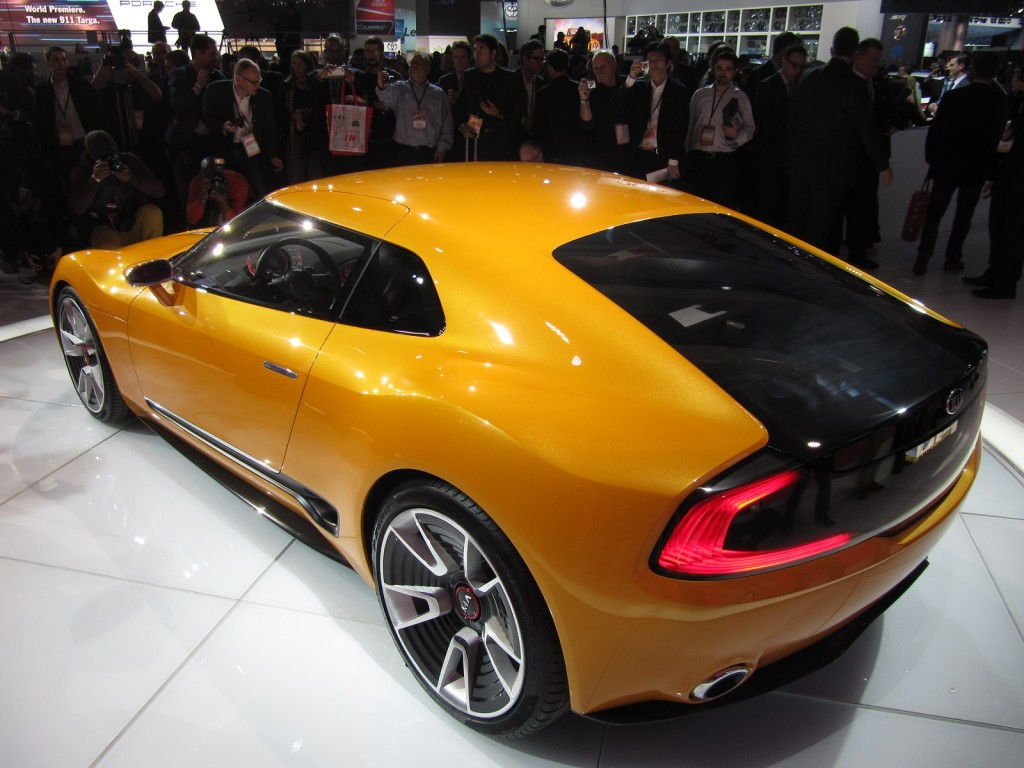 2018 Kia Sports Coupe Concept photo - 3