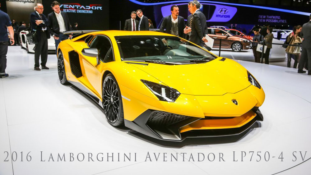 2018 Lamborghini Aventador LP750 4 SV photo - 1