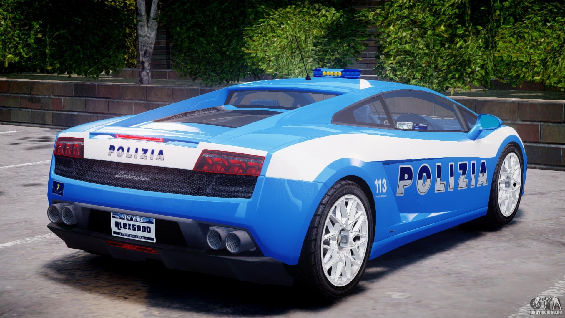 2018 Lamborghini Gallardo LP560 4 Polizia photo - 3