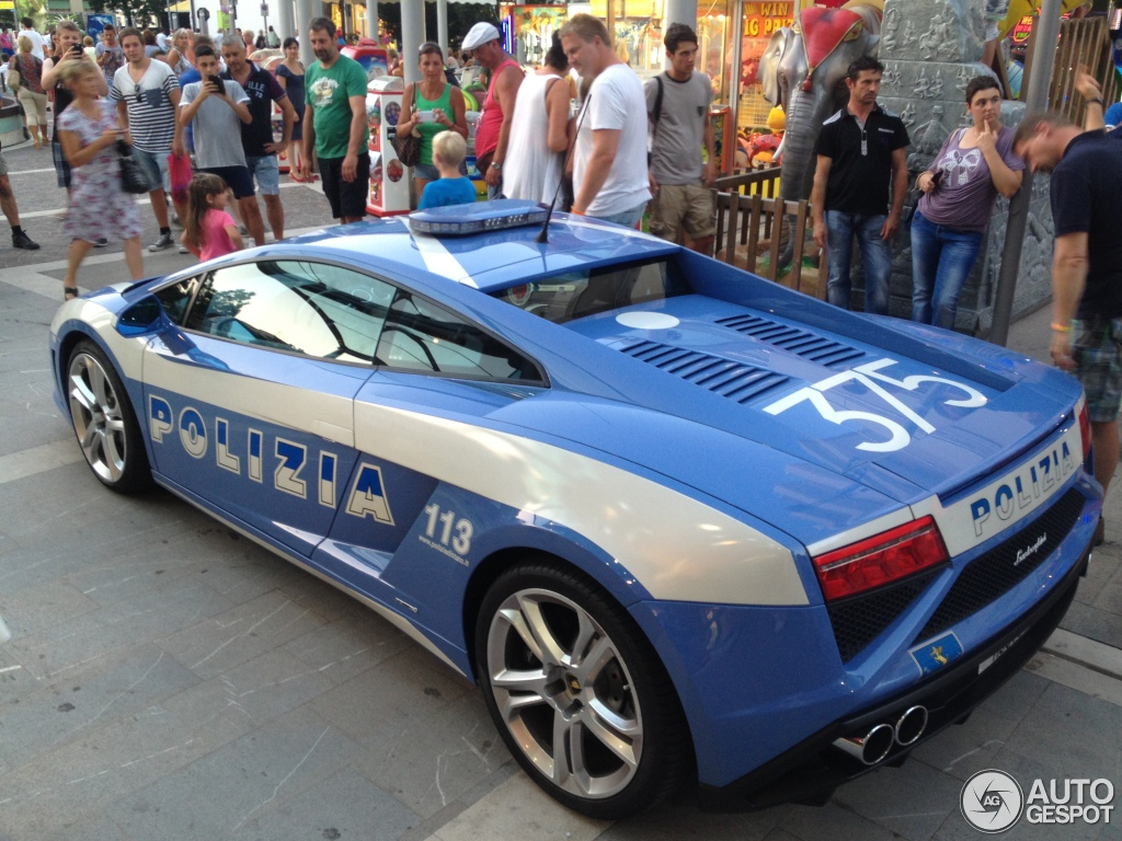 2018 Lamborghini Gallardo LP560 4 Polizia photo - 5