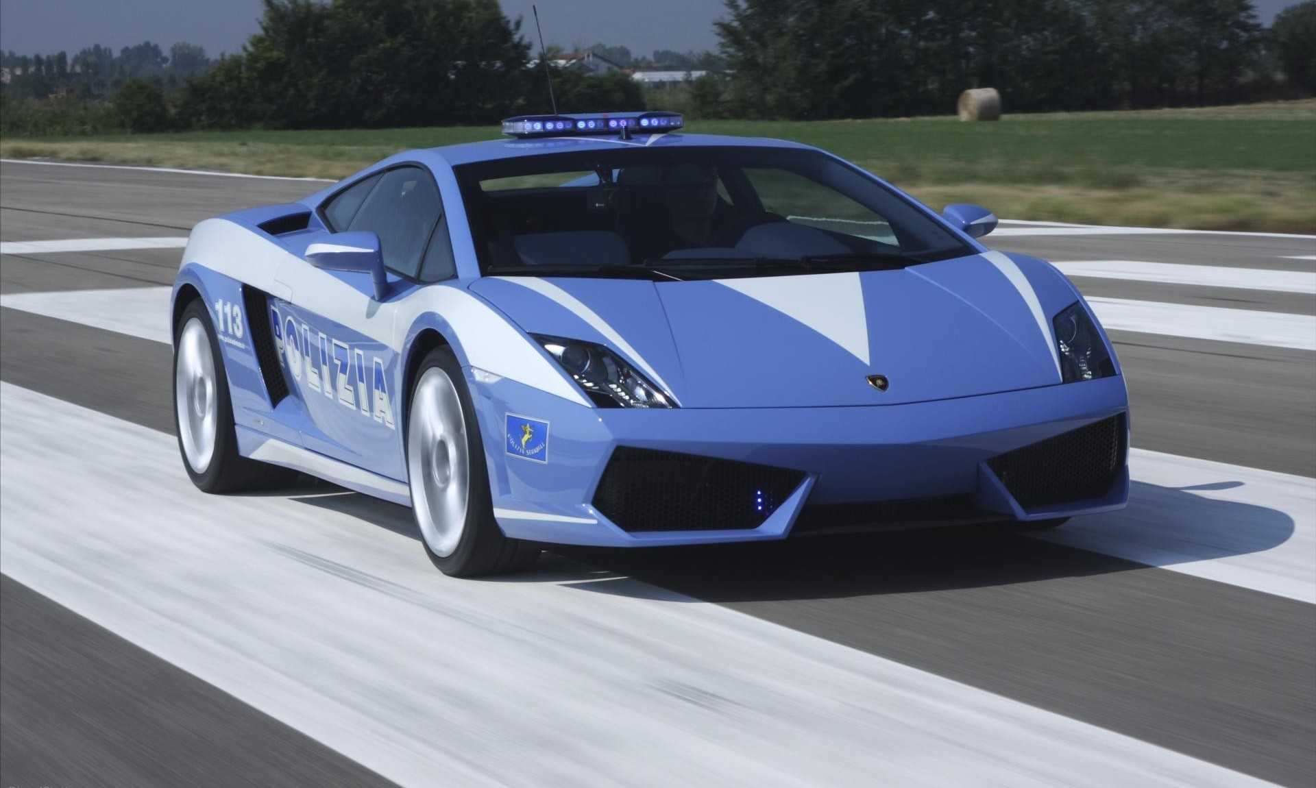 2018 Lamborghini Gallardo Police Car photo - 1