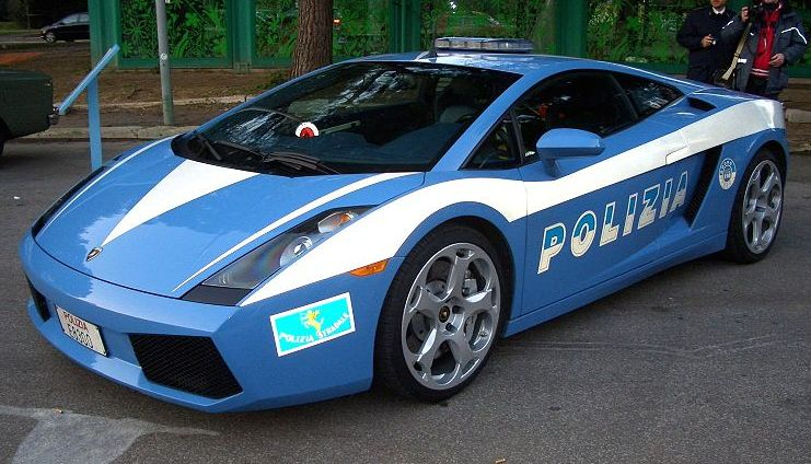 2018 Lamborghini Gallardo Police Car photo - 2