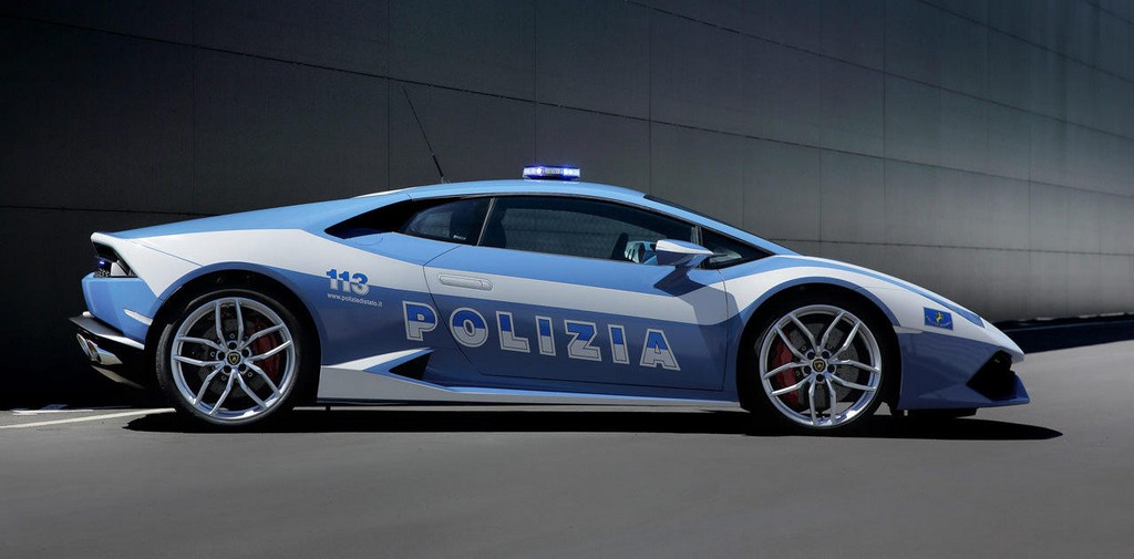 2018 Lamborghini Gallardo Police Car photo - 3
