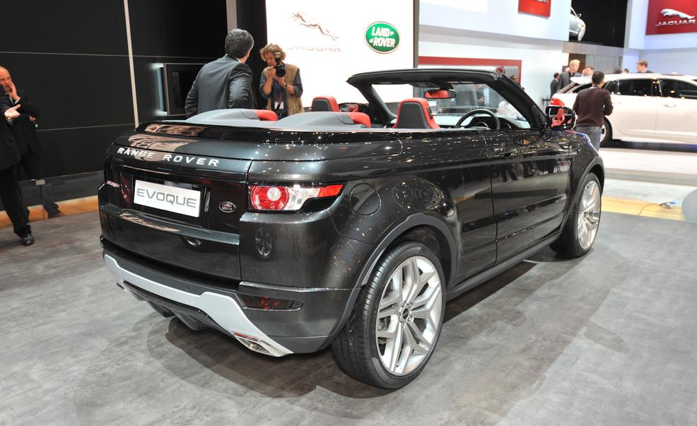 2018 land rover convertible. unique 2018 2018 land rover range evoque convertible concept photo  4 inside land rover convertible