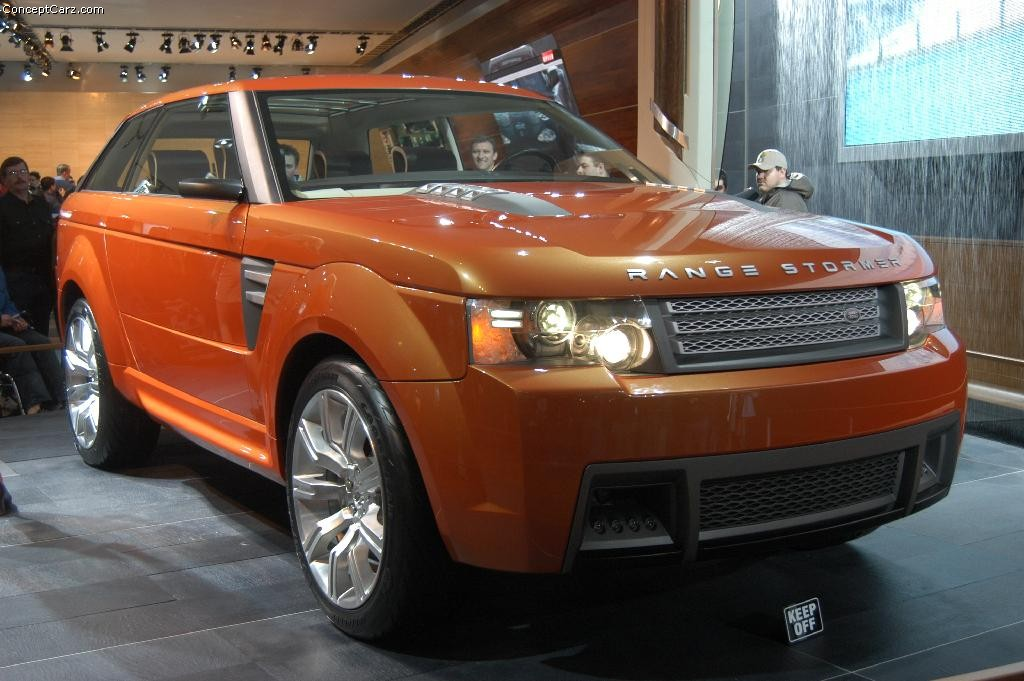 2018 Land Rover Range Stormer Concept photo - 3