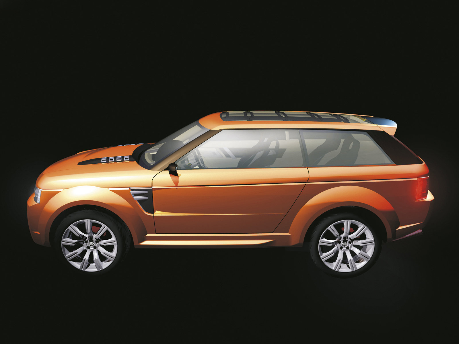 2018 Land Rover Range Stormer Concept photo - 5
